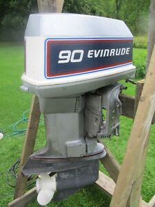 EVINRUDE 90 HP OMC OUTBOARD MOTOR  REPAIR OR PARTS