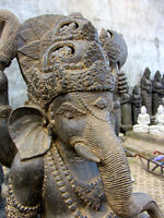 *OPEN HOUSE*  BALINESE TEAK furniture and LAVA stone Statues