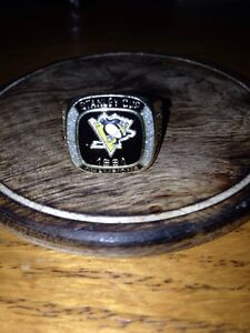 Pittsburgh Stanley cup ring
