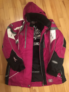 Ladies Choko Adventurer Snowmobile Jacket size Small