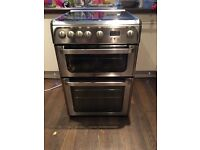 Hotpoint Ultima stainless steel gas oven cooker
