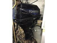 Tohatsu 20hp 4stroke short shaft needs repairs