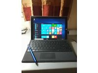 Microsoft Surface 3 10.8-inch Full HD 64GB Windows 10 Table PC With Keyboard and Surface Pen