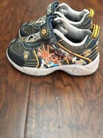 "Toddler Boys Diego ""light up"" shoes size 7"