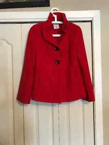 Red Peacoat Kingston Kingston Area image 1