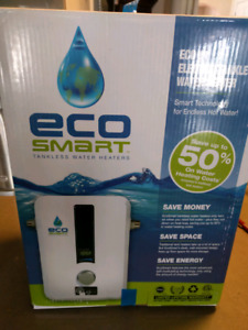 Eco smart tankless hot water heater electric