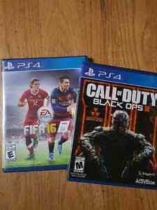 Fifa16 & Call of Duty  Black Ops 3
