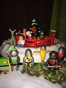 Playmobile christmas & knights set + more