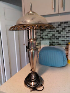Vintage Metal Portable Lamp