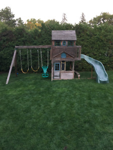 Wooden Outdoor Play house