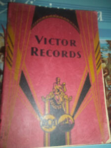 VINTAGE BOOKS-His Masters Voice HMV Record Catalogue 1946 - 1947