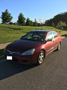 2006 Honda Accord SE Sedan with Safety Check and Emission Test