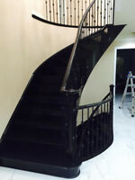 Special offer on Stairs and refinishing of floor 647-237-5413