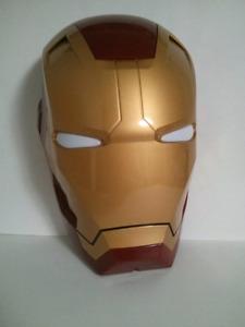 Iron man marvel mark 42 helmet wall light