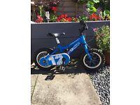 """Kids 12"""" ridgeback bike"""
