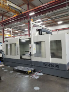2008 Mighty Viper VMC2100-5AB Vertical Machining Center (#3127)
