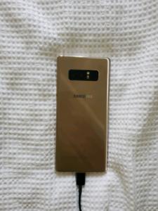 Gold Samsung 8 Note unlocked $550