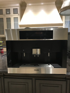 Miele Coffee Machine and Cup Warming Drawer - built-in