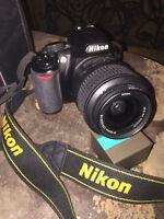 REDUCED !!!  Nikon D3100 digital camera.