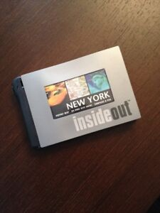 Inside/Out - New York City Guide (Brand New)