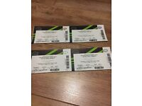 4 KISS HAUNTED HOUSE PARTY TICKETS FAB SEATING BLOCK N5 ROW K OCT 27rh BARGAIN EPPING