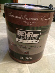 BEHR PREMIUM PLUS ULTRA GREEN PAINT
