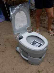 Camping Toilet & Pop up Pod