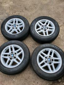 """15"""" BMW Alloy Wheels"""