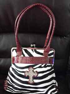 Zebra purse Windsor Region Ontario image 1