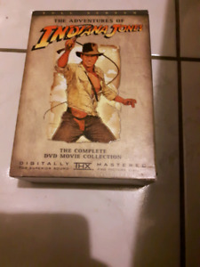 Indiana Jones Box Set DVD
