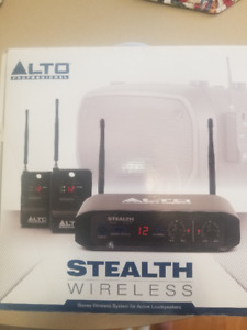 Alto Stealth Wireless Microphone System