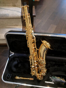 TENOR SAXOPHONE- Phil Barone Classic Gold. Barely Used. $1600.