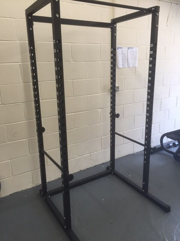 power cage squat rack 120 ono in hethersett norfolk gumtree. Black Bedroom Furniture Sets. Home Design Ideas