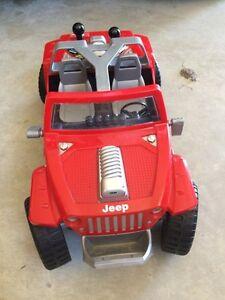Remote jeep