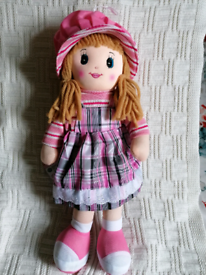 Rag Doll Personalised Embroidered
