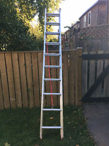 Aluminum Extension Ladder - 20 feet