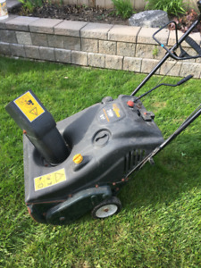Stop Shoveling-7.5 Hp Snowblower   $350