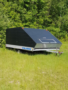 Polaris Duel Snowmobile Trailer