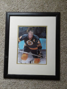 Bobby Orr Framed Collectible