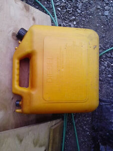 Yellow 20L Diesel can