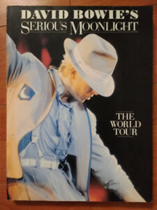 David Bowie Book Serious Moonlight The World Tour Doubleday 1984