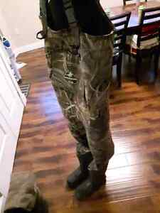 Chest wader boot foot size 10