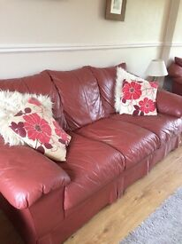 For sale 3 piece suite , 3 seater, 2 seater& chair