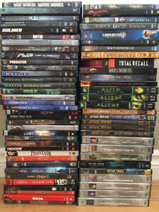 LARGE DVD / BLU RAY COLLECTION