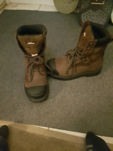 genuine dickies size 8 work boots $40.00