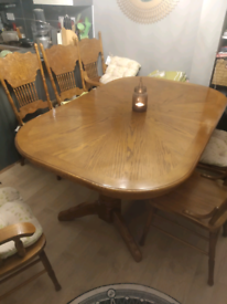 Dinning table and chairs for sale £250