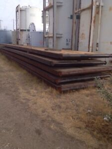 (5) 40'x 8' Rigmats For Sale N.O.S