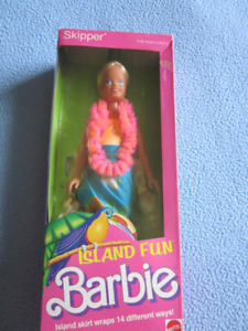 1987 Island Fun Skipper Barbie doll