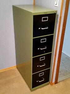 4 Drawer Steelcase File Cabinet