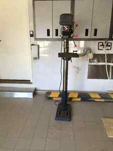 Drill press Column